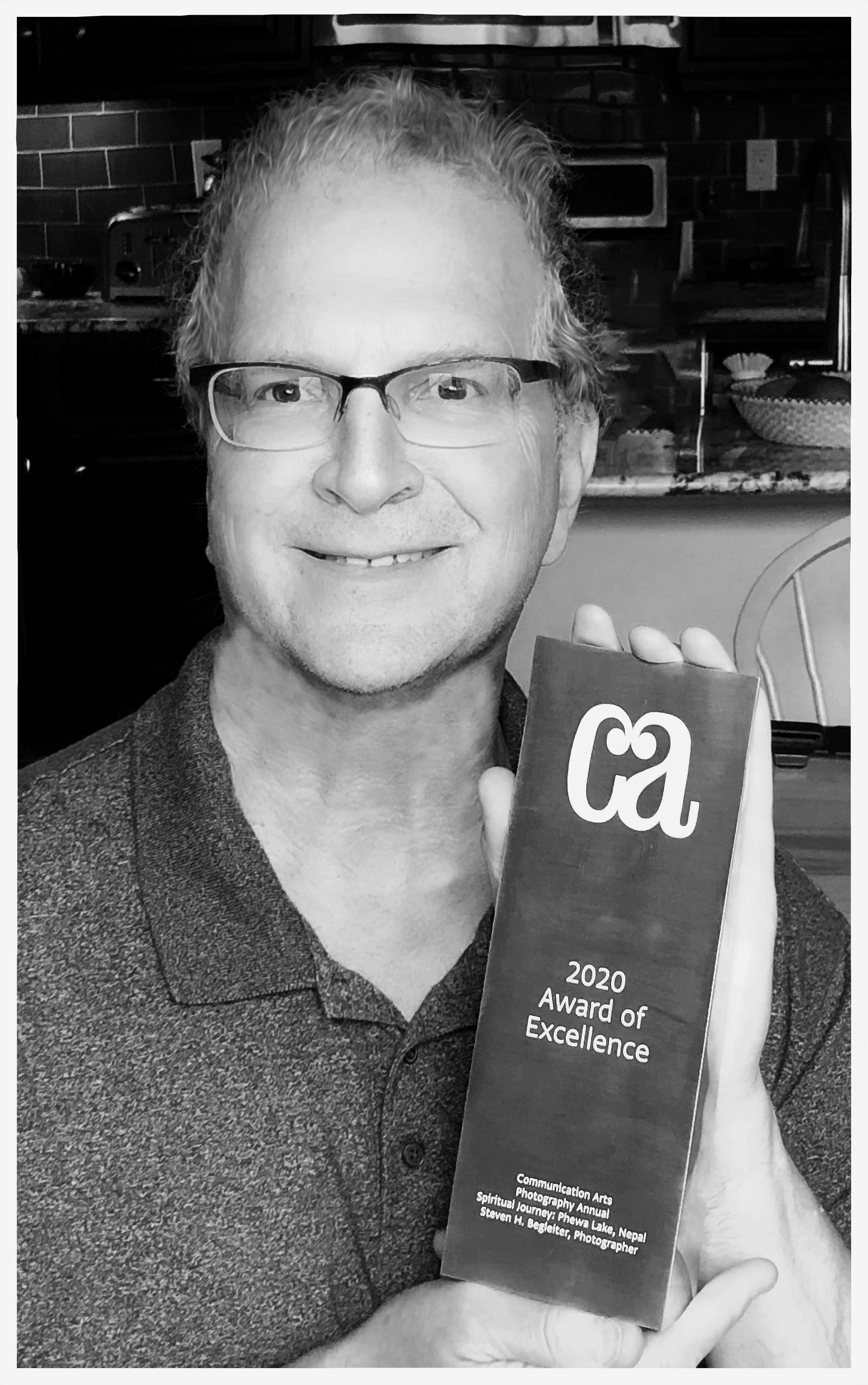 Me and my CA award